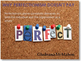 Perfectionism Speaker Slide