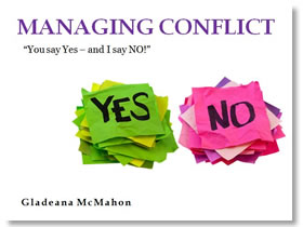 Managing Conflict Training Slide
